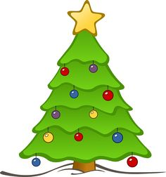 christmas tree in snow clipart photo images and cartoon pictures rh pinterest com