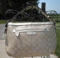 Authentic Coach 15703 Coated Khaki Signature Convertible Bag NWT Shipping Included $145.00