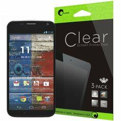 i-Blason 3 Pack for Google Moto X Screen Protectors Premium HD Clear Version Life Time Warranty (AT&T, Verizon, Sprint, T-mobile, All Ca...