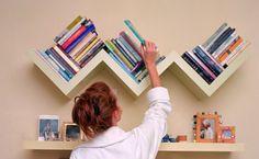 Estante de livros - Para quem gosta de ler é importantíssimo ter em seu lar, um espaço dedicado aos seus livros. Confira nossas dicas de como organizar seus livros em casa!
