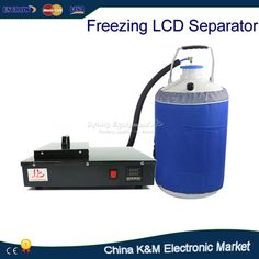 >> Click to Buy << Russia tax-free Shipping FS-06 liquid nitrogen freezing LCD Separating machine 2 in 1 pack with vacuunm pump and nitrogen tank #Affiliate