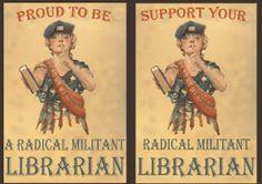 Radical Militant Librarian Stuff on Cafepress