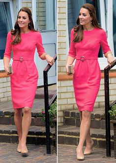 Catherine, Duchess of Cambridge, visits an M-PACT Plus Counselling Programme at Blessed Sacrament School on July 1, 2014 in London, England.
