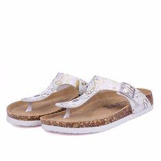74b73fe5fef Footbed Flip Flop. Flip Flop SlippersFlat SandalsLeather Flip FlopsColor  MixingSummer BeachCasual ...