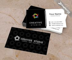 Free PSD Business Card Template | GraphicsWall