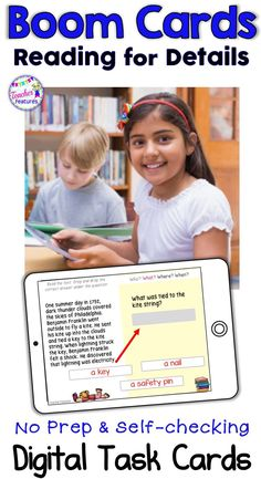 How To Produce Elementary School Much More Enjoyment This Boom Cards Deck Contains High-Interest, Nonfiction Reading Comprehension Passages Designed To Engage Your And Grade Students. Every Passage Is Accompanied By 4 Text-Dependent, Self-Checking Reading Comprehension Passages, Reading Strategies, Reading Activities, Teaching Reading, Guided Reading, 4th Grade Reading, Readers Workshop, Card Reading, Teacher Resources