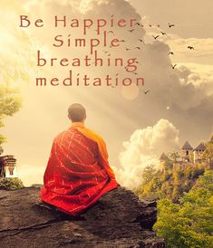 Be Happy - simple breathing meditation Breathing Meditation, Feeling Happy, Happiness, Mood, Feelings, Simple, Health, Easy, Bonheur