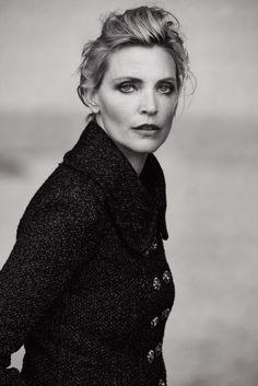 Nadja Auermann. Photo: Peter Lindbergh for 'Vogue' Italia.