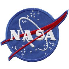 - This emblem is NASA's second official insignia. - It is now also the official, having replaced the NASA worm design. - It is nearly identical to the design used during all the Mercury flights, as ea