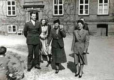 THE ROMANOVS DESCENDANTS ~ left - Alexander Kulikovskiy, b November 1948 in Canada. He was the grandson of the last Grand Duchess of Russia and the youngest sister of N II, Olga (center). He was named after his grand grandfather, Alexander III.  He is a son of GD Olga's second son Guriy. He served for Danish Trading Fleet. Today he lives in Copenhagen with his mother Ruth. Seems, he has no descendants ~