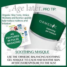 Ormedic Image Skincare Pro Tip #skininthecitydenver #organicskin