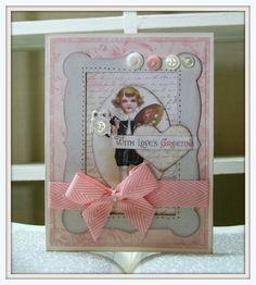 Vintage Valentines by Pollyspaper