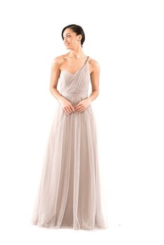 One of Brideside's top bridesmaid dresses, the Jenny Yoo Annabelle, can be tied multiple ways to create the perfect style for your special occasion.