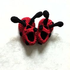 Adorable Lady Bug Shoes