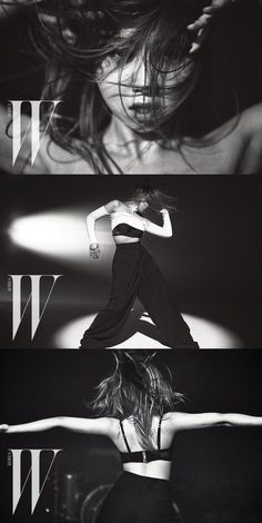 Check out 2NE1 Minzy's dance photoshoot with 'W Korea'! | allkpop.com