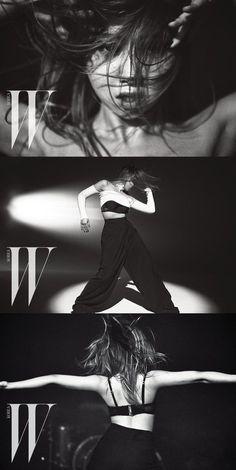 Check out 2NE1 Minzy's dance photoshoot with 'W Korea'! | allkpop.com