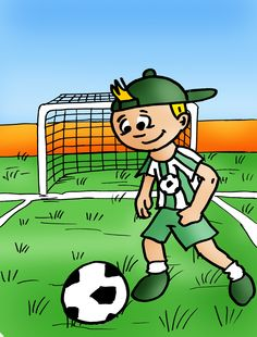 Chaz of Find the Cutes. www.findthecutes.com. Like us on Facebook! Follow us on Pinterest! #Chaz #Find #Cutes #Childrens #Book #Children #Animation #Illustration #Illustrator #Soccer