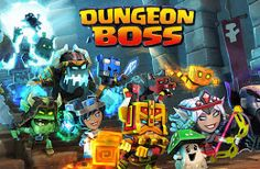 Dungeon Boss. Fun to kill time on the phone lol