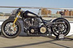 Harley-Davidson Fatboy Bobber Motorcycle - 2