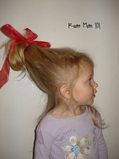 Room Mom 101: Cindy Lou Who Hair