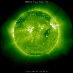 After being behind the sun for the previous year, our Solar and Terrestrial…