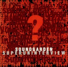 For Sale - Soundgarden Superuninterview USA Promo  CD album (CDLP) - See this and 250,000 other rare & vintage vinyl records, singles, LPs & CDs at http://eil.com