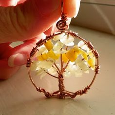 Tree of Life, tutorial here: http://www.beadinggem.com/2008/12/how-to-make-tree-of-life-pendant.html