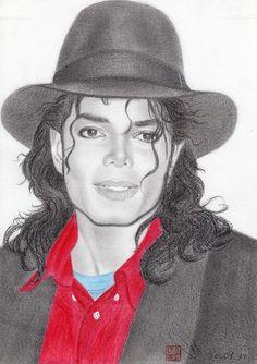 Michael Jackson Drawing in Color Michael Jackson Drawings