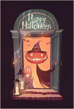 Halloween illustrations 2015 on Behance