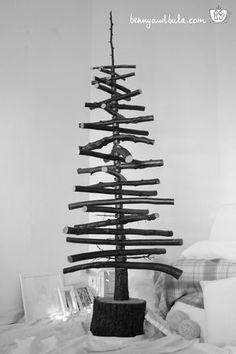 Sapin de Noël en bois Flotté et design à faire soi-même | pallets ...