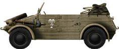 Kübelwagen Type 182 in North Africa, Afrika Korps 1941