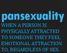 Pansexuality [click on this image to find a short clip and analysis of asexuality and identity politics]