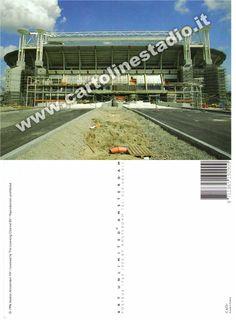 € 0,90 - code : NED-014 - AMSTERDAM ArenA - stadium postcard cartolina stadio carte stade estadio tarjeta postal Under Constraction
