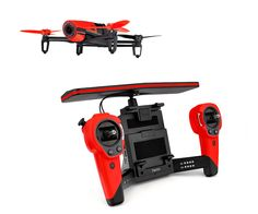 PARROT BEBOP DRONE + SKYCONTROLLER ROJO