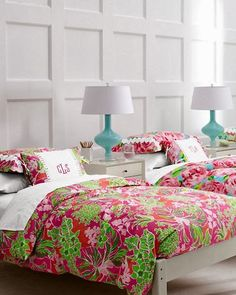preppy on a budget: lilly bedspread | wishlist | pinterest | dorm