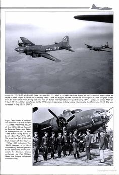 B-17 Groups of the 8th Air Force in Focus - Google Books Air Plain, Ww2 Aircraft, Military Aircraft, Old Planes, United States Army, Nose Art, Aeroplanes, Military History, World War Two