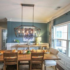 Attempt to use a light fixture in your dining room, to create a charming as well as pleasant ambience for guests that come. This dining room chandelier concepts can be utilized as ideas.