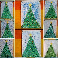 vianočné stromy