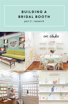 Booth Research For Bridal Shows Part 2 In Series Building A