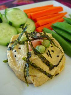 Soup Spice Everything Nice: Wasabi Hummus