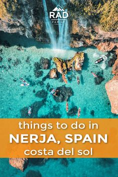 Looking for a perfect little beach town in Spain? You can't beat Nerja, alon… Looking for a perfect little beach town in Spain? You can't beat Nerja, along Spain's Costa Del Sol. Here's what to do if you've got a day or two to spend at the tip of Europe. Travel Destinations Beach, Places To Travel, Kids Places, Europe Destinations, Beach Travel, Hawaii Travel, Time Travel, Spain Road Trip, Grenade