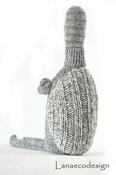 Tarta Ti della Banda Lanotti in lana riciclata cucita a mano