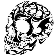 Our vinyl decals come all ready to attach to your vehicle window wall locker cupboard Just about anywhere really If you want to apply your decal to a Skull Stencil, Tattoo Stencils, Stencil Art, Skull Art, Stenciling, 1 Tattoo, Tattoo Drawings, Art Drawings, Skull Tattoos