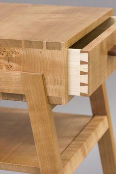 Offerman Woodshop » Cherry Bedside Table