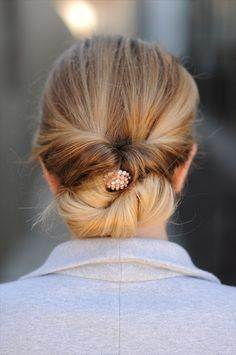 topsy turvy twisted updo