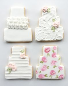 Best of Philly bakery for amazing wedding cakes, birthday cakes, cupcakes and cookie favors. Fill out our contact form today! Fancy Cookies, Iced Cookies, Custom Cookies, Sugar Cookies, Wedding Cake Icing, Wedding Cake Cookies, Decorated Wedding Cookies, Anniversary Dessert, Anniversary Cookies