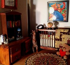 Time to get Ryan a new bed. His crib is going to be his new brother or sisters...   by RFB Designs by Peggy