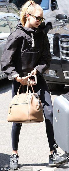 Naomi Campbell, Rose Byrne and Gigi Hadid dress down before Met Gala #dailymail