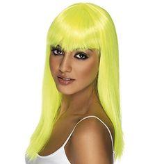 Smiffy's Womens Glamourama Halloween Party Costume Wig