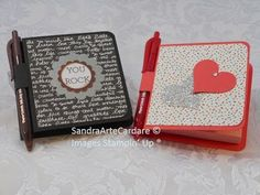 POST IT NOTE PAD GIFT IDEAS - SandraR UK Stampin' Up! Demonstrator Independent - YouTube